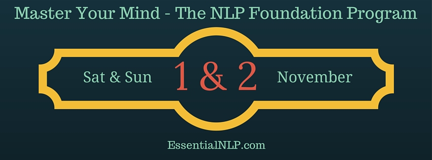 Book Online Tickets for Master Your Mind - The NLP Foundation Pr, Bengaluru. 