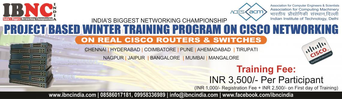 Project Based Winter Training Program on Cisco Networking