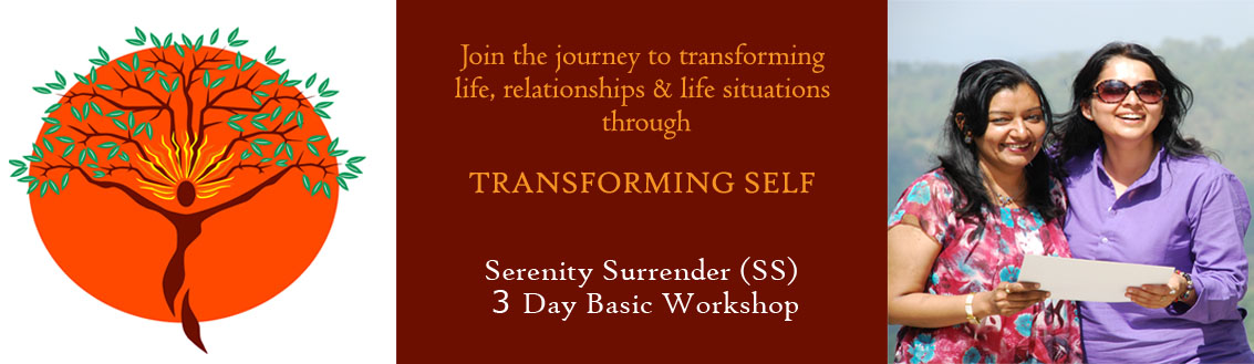 SERENITY SURRENDER WORKSHOPS -December Event