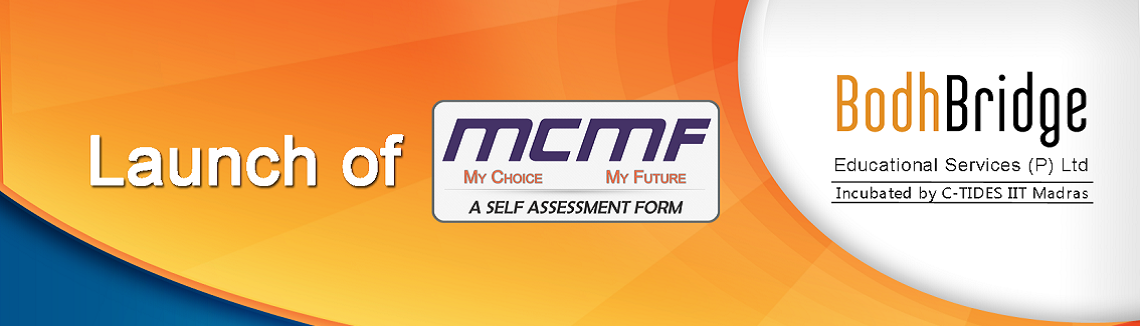 Launch of Self Assessment form for Career Choice at IIT Madras on 17th October 2014