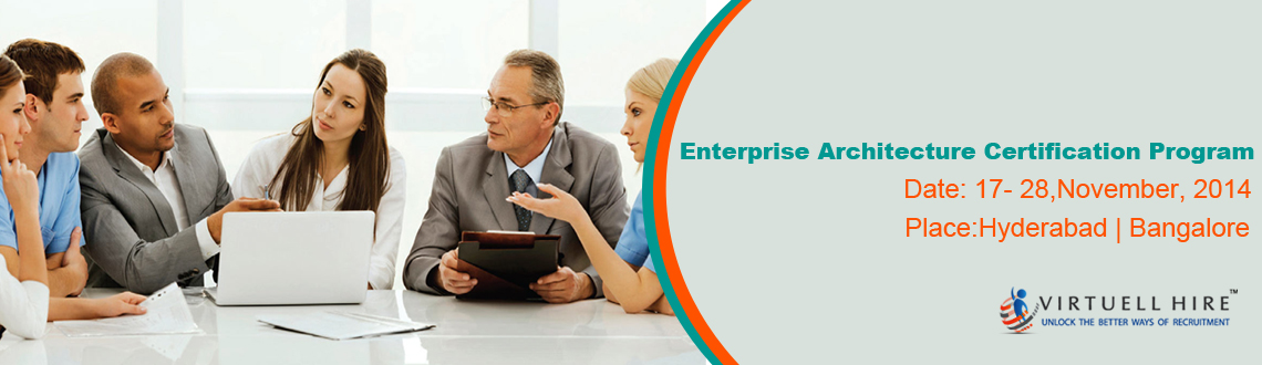 Book Online Tickets for  Enterprise Architecture Certification P, Hyderabad. Enterprise Architect CertificationEACOE Certified Enterprise Architect have the proven ability to perform Enterprise Architecture activities using globally accepted standards and guidelines. They will ensure that the enterprise's information te