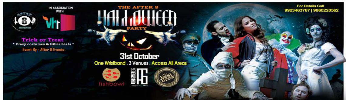 The After 8 Halloween Party on 31st Oct