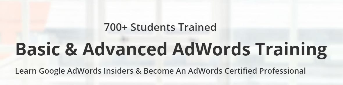 Book Online Tickets for Google AdWords  Google Analytics Trainin, Hyderabad. Google AdWords & Google Analytics Training in Hyderabad. Learn Google AdWords Insiders and their functionality and improve your skills in Paid Marketing. Including Google AdWords Certificationa and Bing Ads Certificaiton for more information o