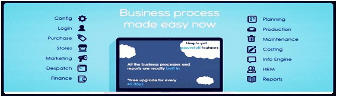 Book Online Tickets for Syscon Cronus  Demo, . Syscon Cronus is an ERP software targeted for SMEs in the sapace of Manufacturing and Trading. We all know that the growth cannot be sustainedwithout an IT solution Every growing Enterprise is looking for an end-to-end ERP solutio
