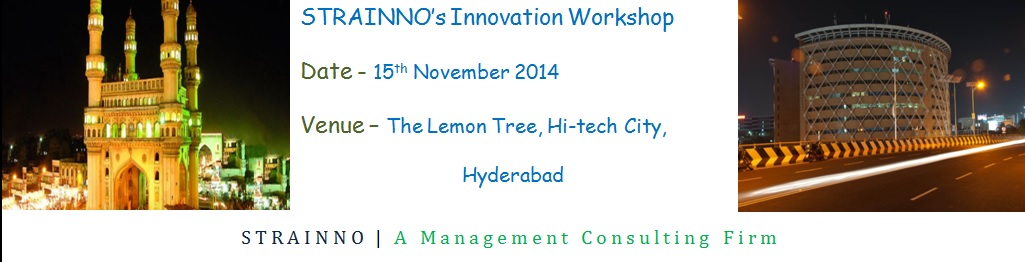 Book Online Tickets for Innovation Workshop Nov14 Hyderabad, Hyderabad. \\\