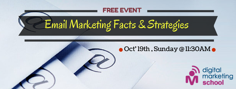Book Online Tickets for Email Marketing Facts   Strategies, Hyderabad.  