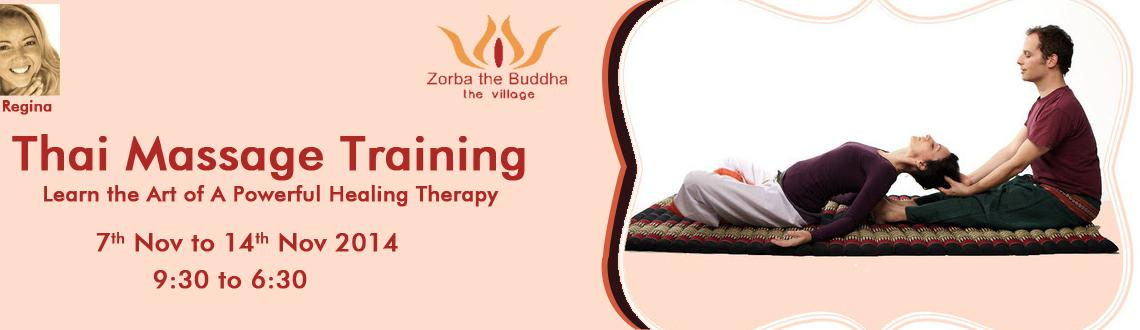 Thai Massage Certified Training by Regina Papalambrou