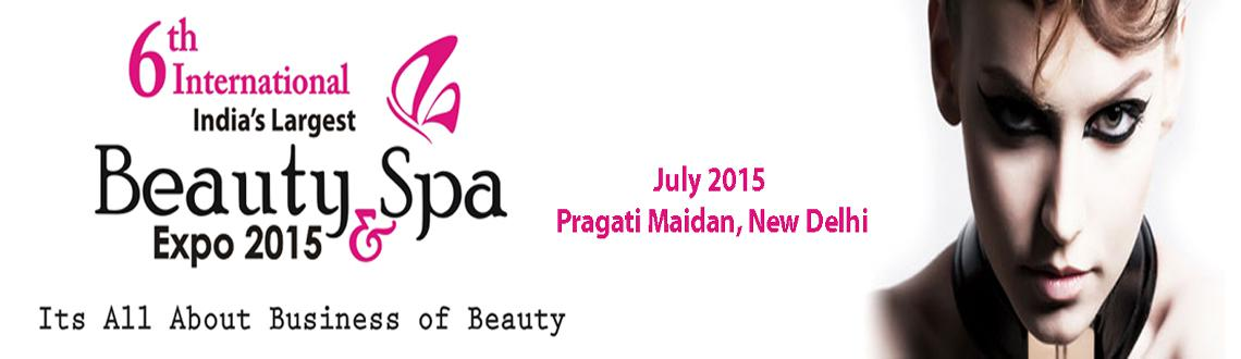 Book Online Tickets for 6th International Beauty   Spa Expo 2015, NewDelhi. International Beauty & Spa Expo, India's most acclaimed International Trade Show of Beauty Industry which has successfully reached to its 6th Edition happening in Delhi in 2015.