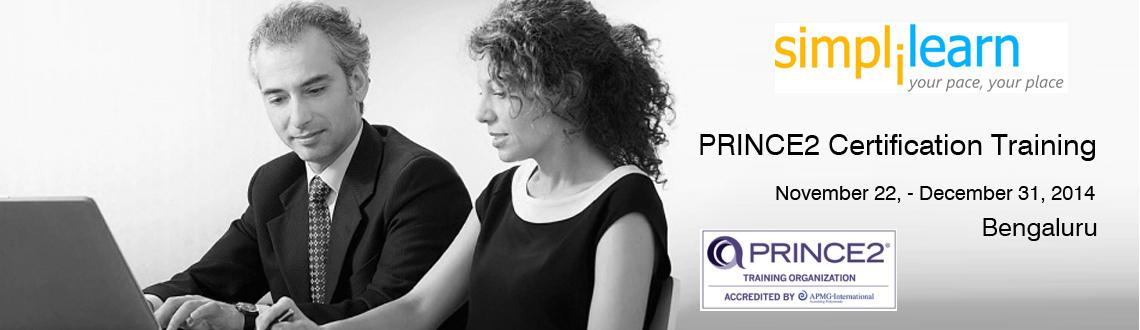 Prince2 Certification Training in Bangalore on Nov-Dec,2014