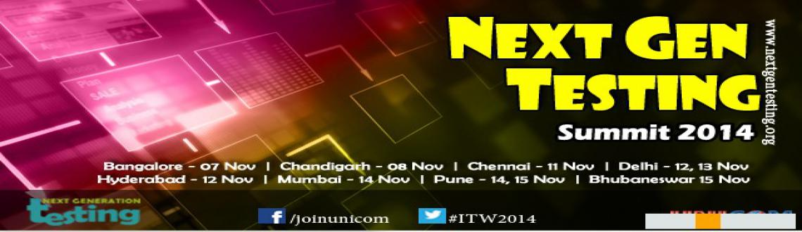 Next Generation Testing Conference bhuvneshwar 2014