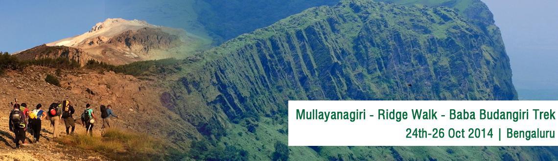 Mullayanagiri - Ridge Walk - Baba Budangiri Trek