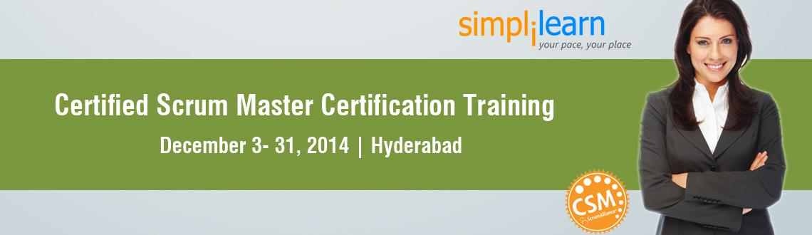Book Online Tickets for CSM Certification Training in Hyderabad , Hyderabad. Certified ScrumMaster Certification Training
