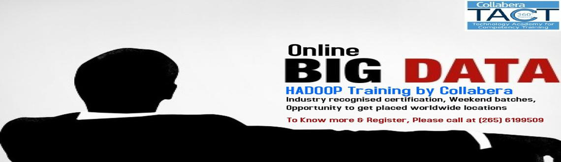 Online Training BIG Data Hadoop for IT professionals by Collabera