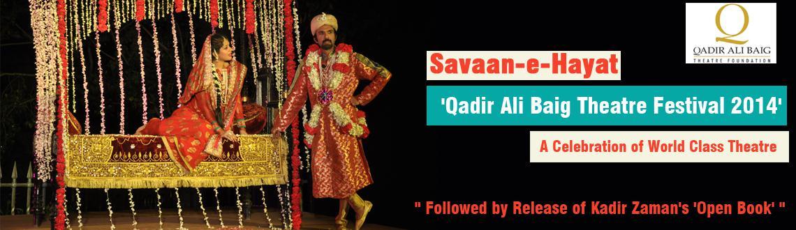Savaan-e-Hayat at Ravindra Bharathi