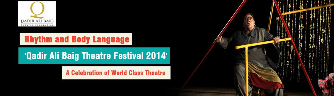 Rhythm and Body Language on Stage at Alliance Francaise 11 AM - 1 PM
