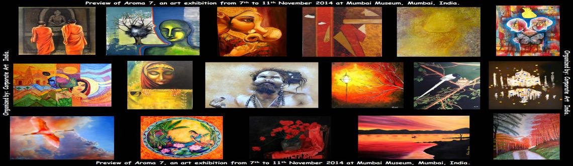 Aroma 7, a mega art exhibition by Corporate Art India.