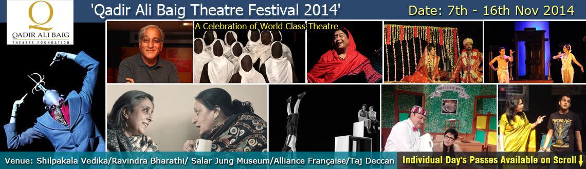 Qadir Ali Baig Theatre Festival - 2014