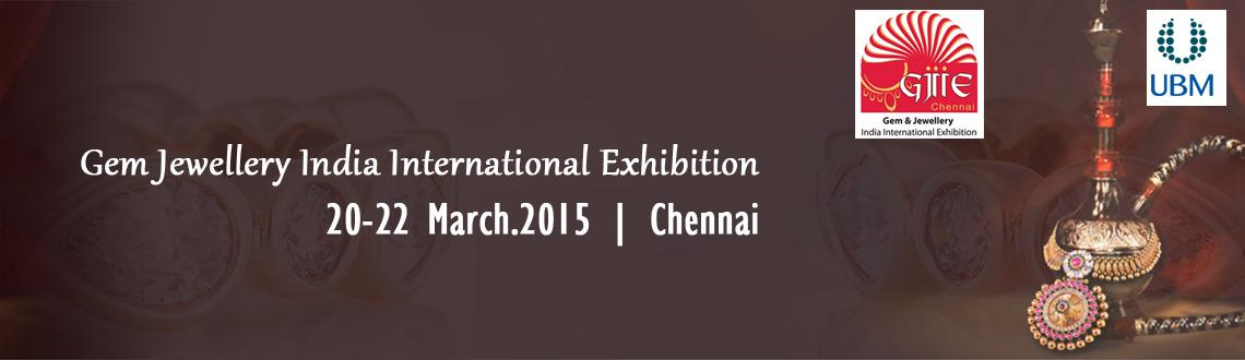 Gem  Jewellery India International Exhibition (GJIIE15)