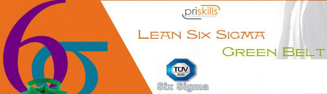 Book Online Tickets for Lean Six Sigma Green Belt Training  Cert, Bengaluru. Greetings fromPriskills!