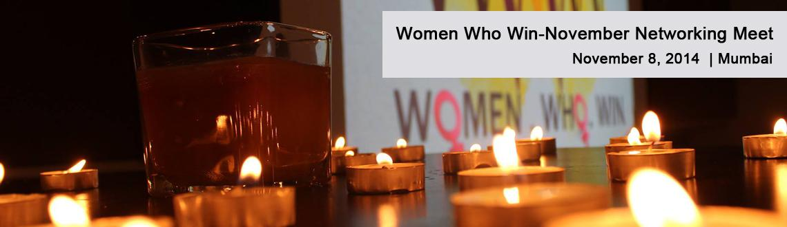 Women Who Win-November Networking Meet