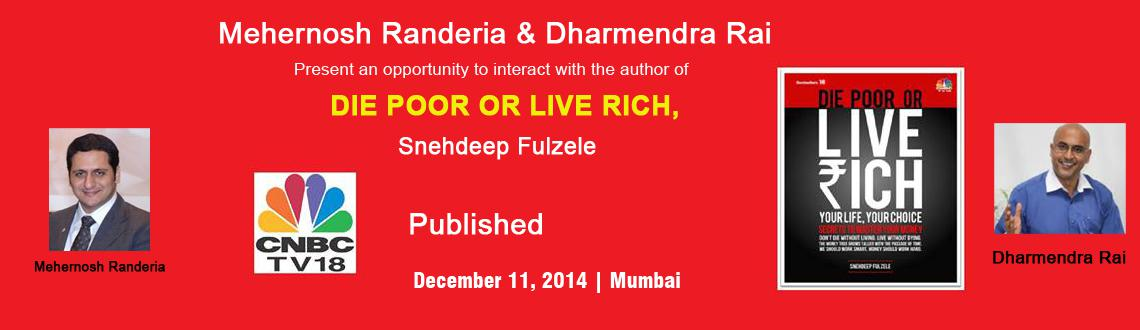 Book Online Tickets for Mehernosh Randeria  and Dharmendra Rai P, Mumbai. Mehernosh Randeria and Dharmendra Rai Book Meet