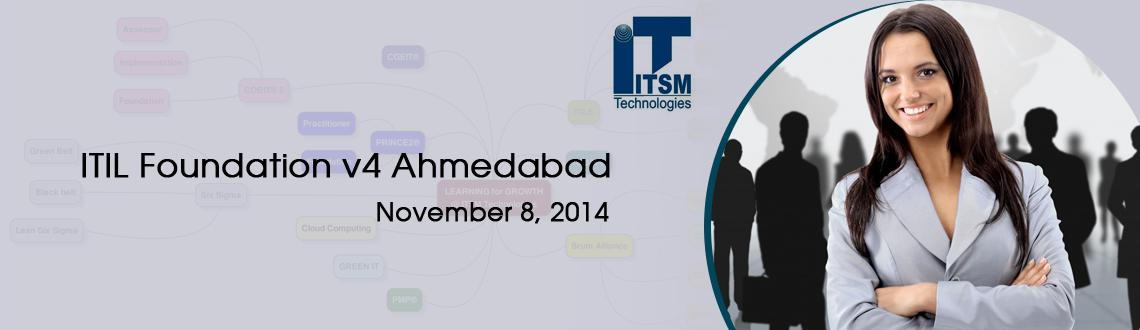 Book Online Tickets for ITIL Foundation v4 Ahmedabad, Ahmedabad. Course Description: ITIL® Foundation classroom training is designed for professionals who are keen to attend interactive classroom sessions delivered by a highly qualified instructor for better understanding on ITIL concepts. ITIL Foundation