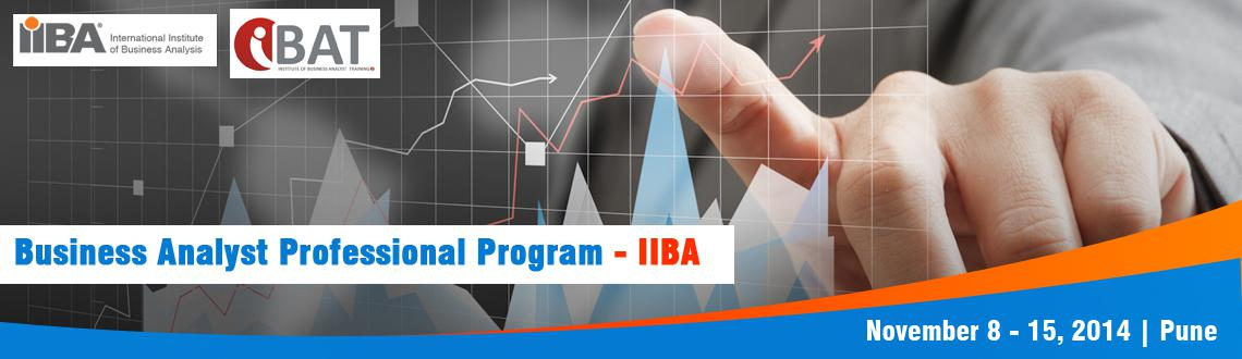 IIBA Endorsed Business Analyst Professional Program, PUNE