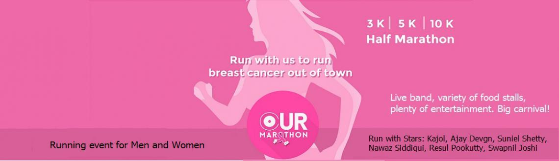 Breast Cancer Awareness run. Please join us for third edition run   Kajol and Ajay Devgan are joining us for the cause and will run with us.