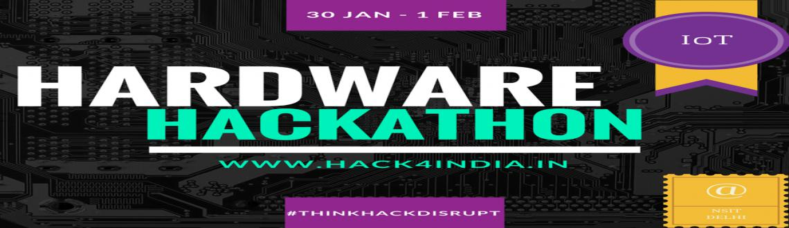 Book Online Tickets for Hack4India Hardware Hackathon, NewDelhi. Calling all future Steve Jobs, Bill Gates and Steve Wozniaks to join us at Hack4India, a hardware hackathon