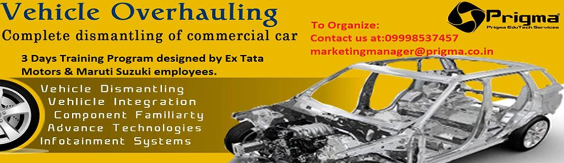 Book Online Tickets for Vehicle Overhauling Aautofiesta14, Other. This program is conceptualized to impart industrial work flow to students that how automobile components function, how vehicle is conceptualized, designed and manufactured. This program provide a platform for the students which supports their enginee