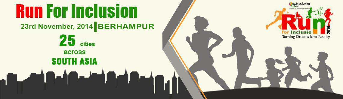 Run For Inclusion 2014 - BERHAMPUR