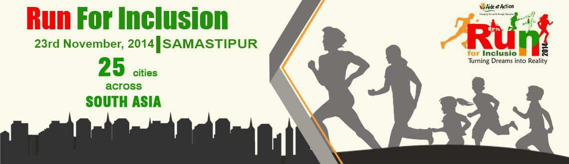 Run For Inclusion 2014 - SAMASTIPUR
