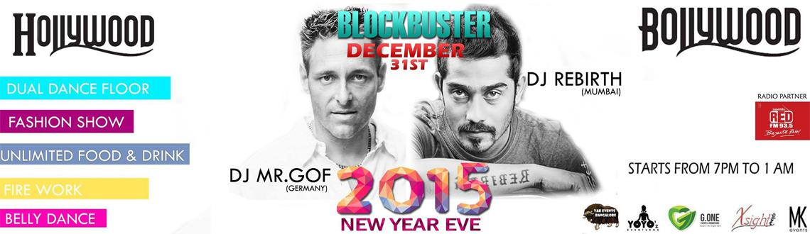 New Year Event 2015 in Bengaluru, Book Passes/Tickets online for The Biggest New Year Eve Blockbuster Holly and Bollywood. Get Event, Live Show and Pa