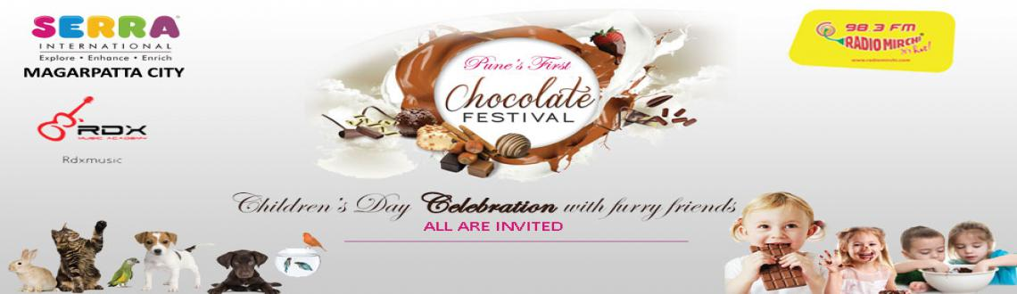 """Book Online Tickets for Chocolate Festival, Pune. """"CHOCOLATE FESTIVAL""""Yes, It is the First Ever Chocolate Festival of PuneCome join us to celebrate a Chocolaty Day with your friends and family !An event specially planned for Children\\\'s Dayto engage , entertain and educate"""