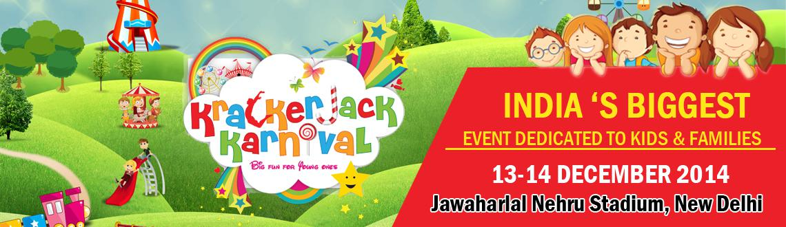 Book Online Tickets for  4th Krackerjack Karnival--  Winter Edit, NewDelhi. The Krackerjack Karnival is Delhi's first and foremost Mega Expo cum Festival catering purely to children and their needs. This two-day, fun-filled children's festival is packed with fantastic exhibits, interactive activities, entertainme