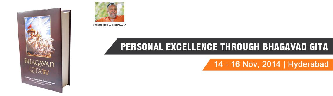 PERSONAL EXCELLENCE THROUGH BHAGAVAD GITA