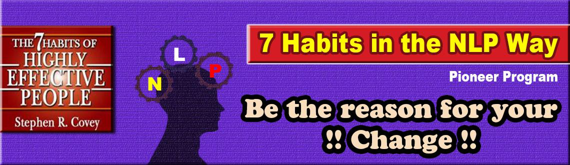 7 HABITS in the NLP way - April