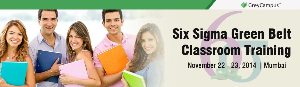 Six Sigma Green Belt Classroom Training in Mumbai
