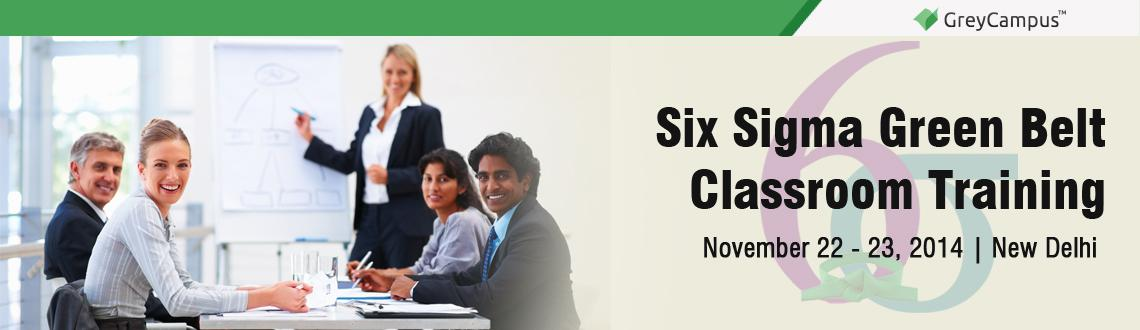 Six Sigma Green Belt Classroom Training in Delhi