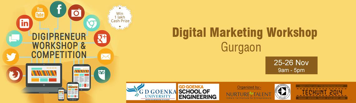 Certified Digital Marketing Workshop for College Students by Computer Society of India and Nurture Talent Academy