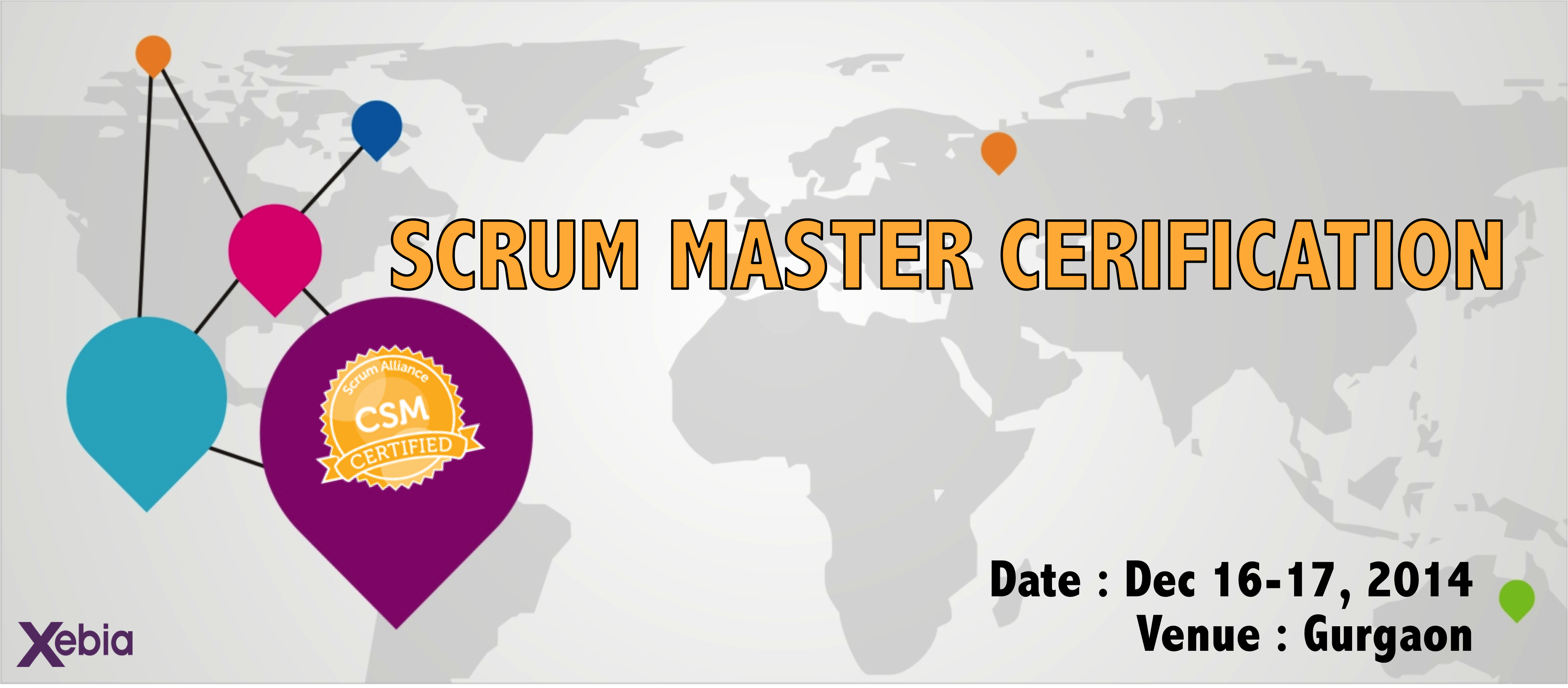 Scrum Master Certification  (CSM) - Gurgaon