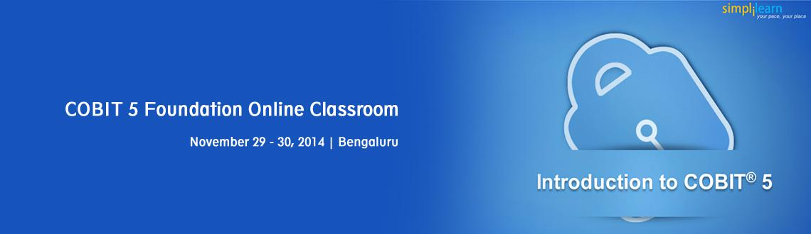 COBIT 5 Foundation Online Classroom