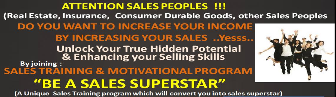 Book Online Tickets for BE A SALES SUPERSTAR, Noida.