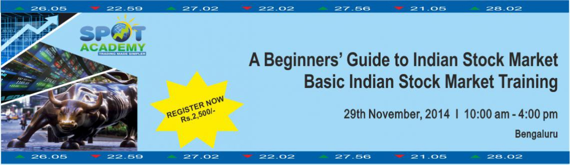 Basic Indian Stock Market Training