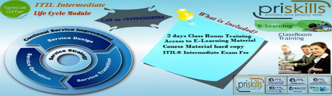 Book Online Tickets for ITIL Intermediate Training and Certifica, Bengaluru. Greetings From Priskills!