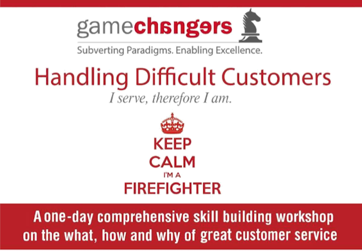 Book Online Tickets for Handling Difficult Customers, Mumbai.