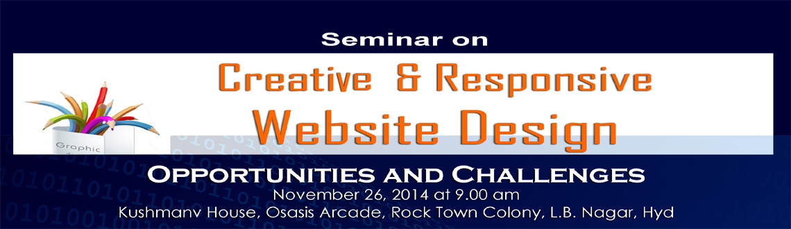 Seminar on Creative  Responsive Website Design
