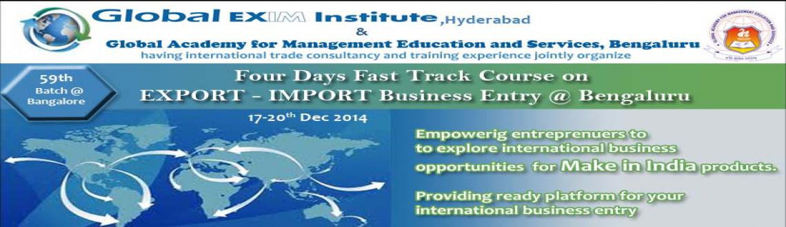 Fast Track Course on EXPORT-IMPORT