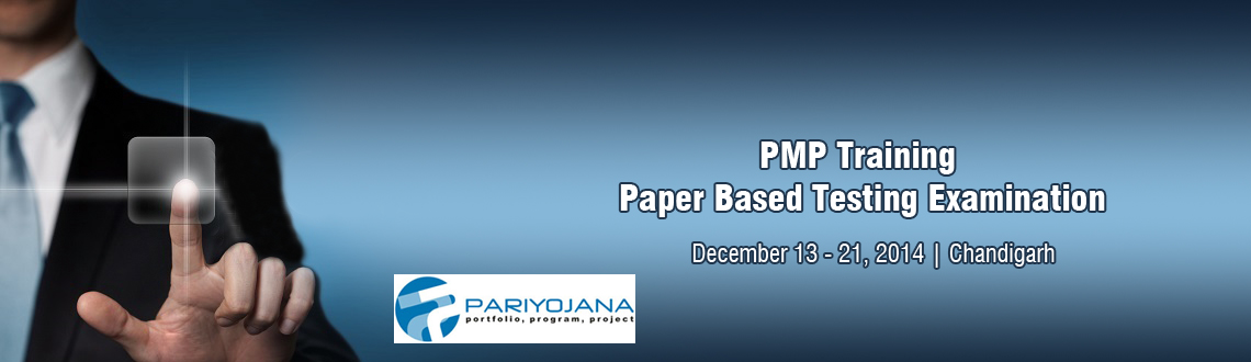 PMP Training - Chandigarh with Paper Based Testing Examination
