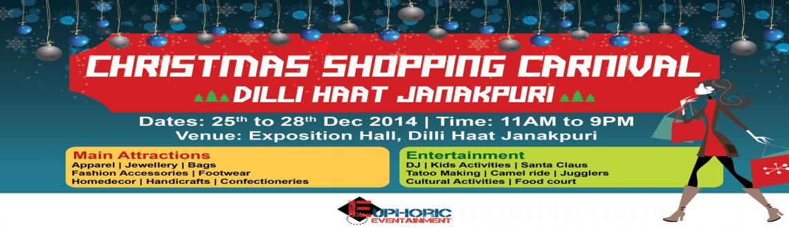 Book Online Tickets for CHRISTMAS SHOPPING CARNIVAL @ DILLI HAAT, NewDelhi. 